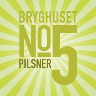 specialøl No5 Holbæk Bryghus pilsner