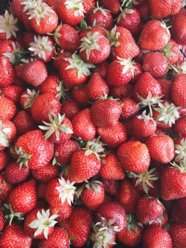 lokale jordbær danske jordbær