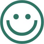 Glad smiley Vesterlyng Café